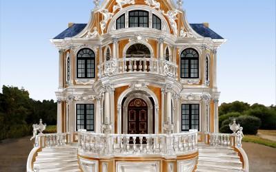 дизайн фасада в стиле барокко