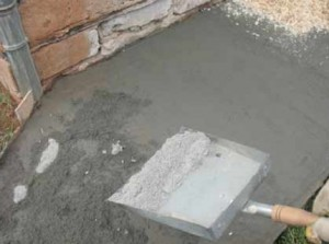 как железнить бетон фото