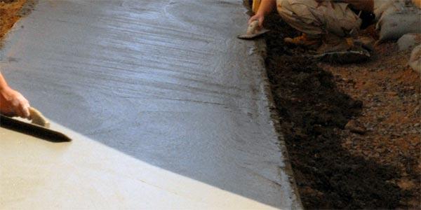 железнение бетона фото
