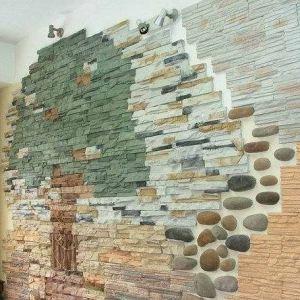 декоративный материал облицовка стен