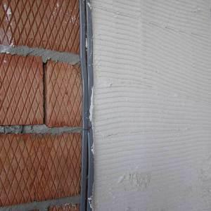подготовка кирпичной стены под штукатурку
