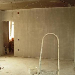 бетонная стена подготовка к штукатурке