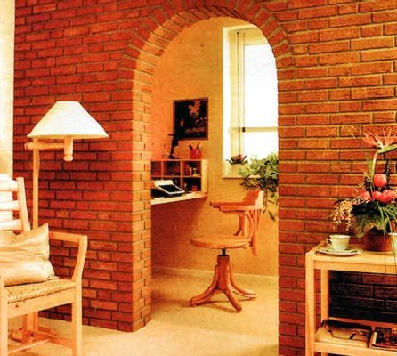 фото кирпичной арки