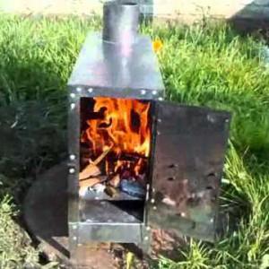 отопление печки-буржуйки