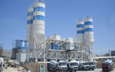 завод по производству цементно песочной смеси