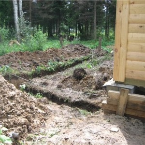 подготовка к строительству фундамента