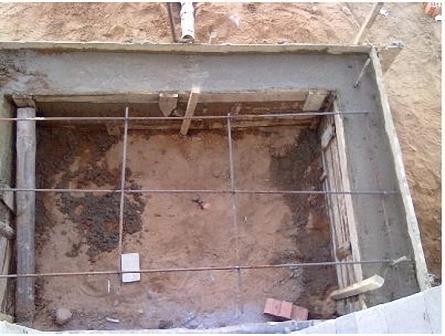 фундамент под веранду