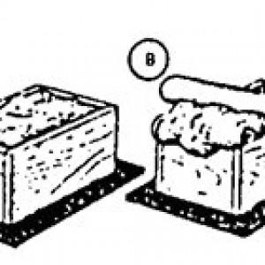 форма для изготовления кирпича