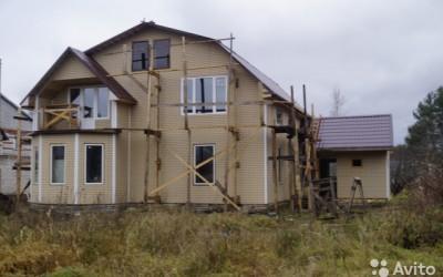 монтаж фасадный панелей под кирпич