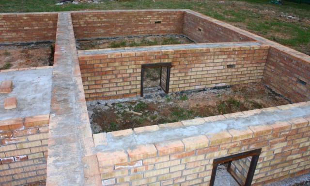 Возведение фундамента под дом Подольский район