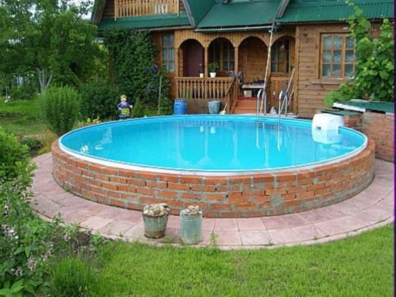 бассейн из кирпича