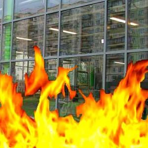 предел распространения огня
