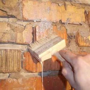 правильна отделка кирпичной стены