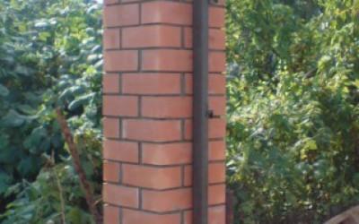 размер кирпичных столбов