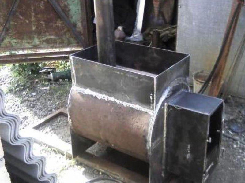 Металлическая печь в баню своими руками - печь из металла