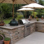дизайн барбекю на летней кухне