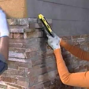 отделка углов стены плиткой гипсовой