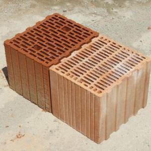 кладка стен из кирпича поротерм