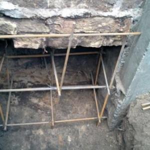 усиление фундамента кирпичного дома