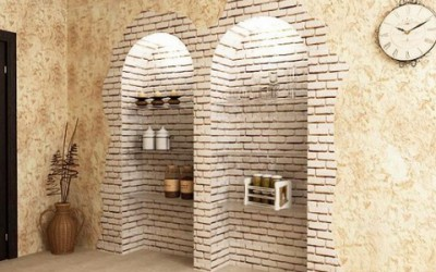 Ниша может быть сделана практически в любой стене