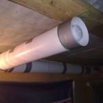 Вентиляция в кирпичном гараже
