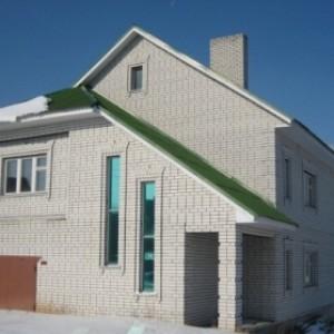 Фото дома из силикатного кирпича 2