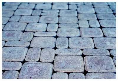 применение брусчатого камня