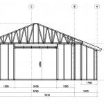 Проект гаража: размеры и схема