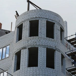 строим дом из силикатного кирпича фото