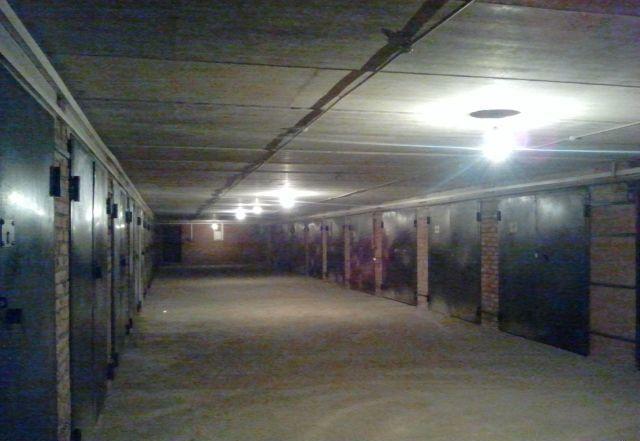 подземные кирпичные гаражи