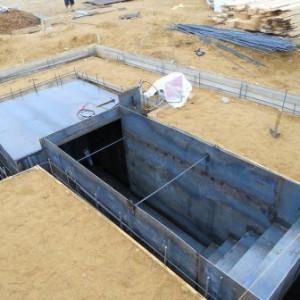 фото строительства гаража