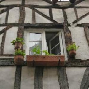 так выглядит старый фахверковый дом