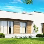 Технология строительства одноэтажного каркасного дома с плоской крышей