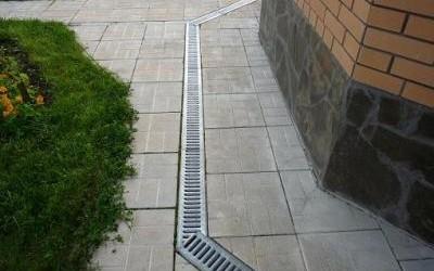 ливневая канализация на участке