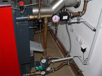 Установить отопление в частном доме