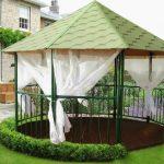 Варианты садовых беседок для летней дачи открытого и закрытого типа
