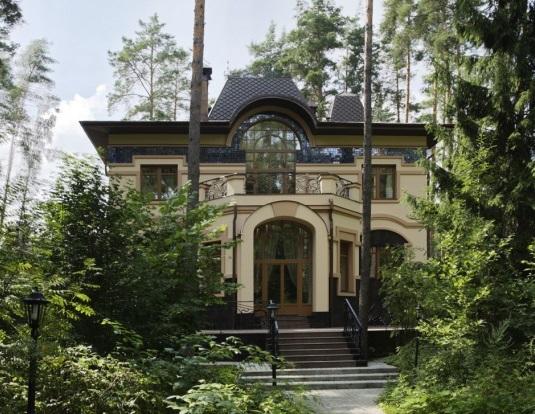 Дизайн дома в стиле модерн