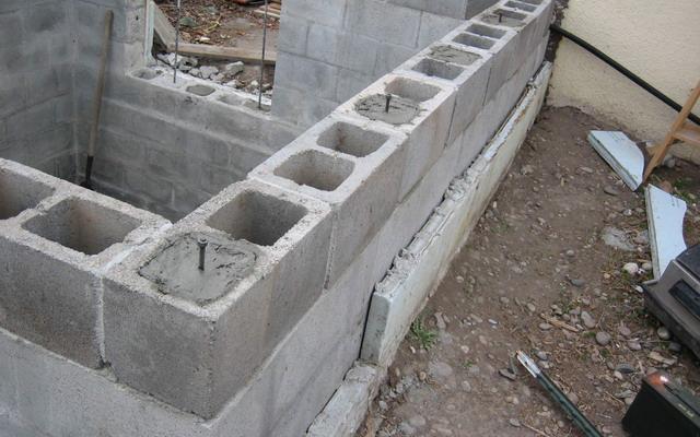 бетонный кирпич