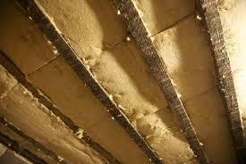 эко вата - утепление потолка бани