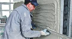 работаем с сухой строительной смесью