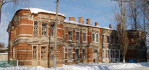 старый кирпичный дом фото