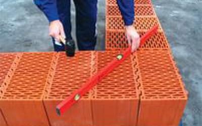особенности кладки керамических блоков