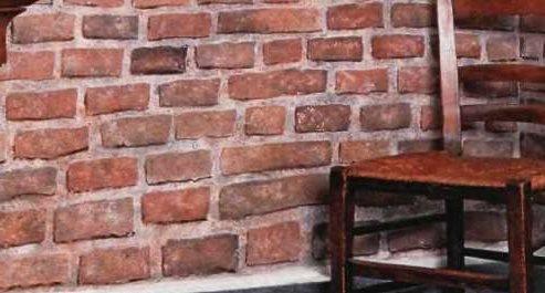 оформление кирпичом стен