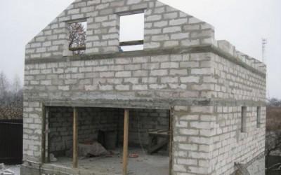 дом из пеноблоков фото