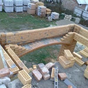 устройство балконной арки фото