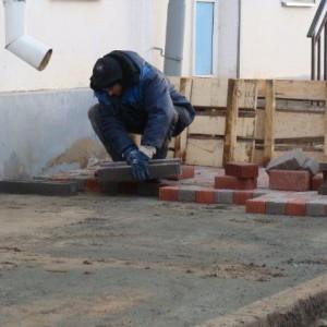 приготовление смеси цементно-песочной