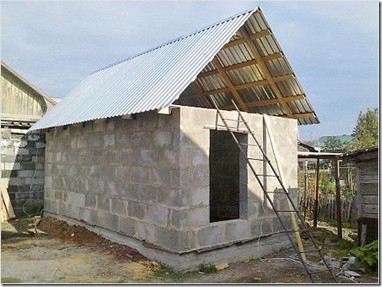 построить баню из кирпича