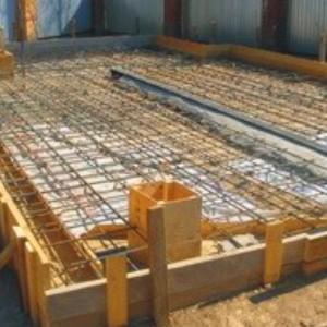 начало строительства гаража