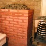 Печь для сауны из кирпича
