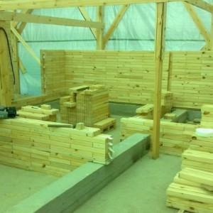 преимущества деревянного кирпича